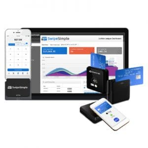 SwipeSimple Mobile Payment App with Bluetooth Card Reader B250