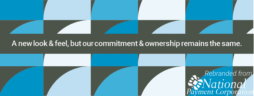 Repeating NPC icon with commitment promise statement in middle.